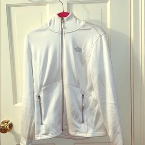 The North Face White Hoodie